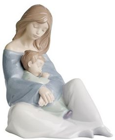 The Greatest Bond, Mother and Child Porcelain Figurine. Available at AllSculptures.com