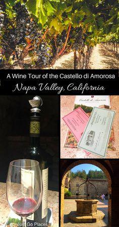 Visiting Castello di Amorosa, A Family Friendly Vineyard in Napa Valley in California