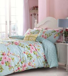 >> Find out a lot more regarding SHABBY BEACH HOUSE BLUE PINK ROSES CHIC QUEEN DUVET COVER SET