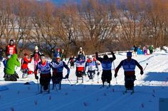 So proud of our recovering veterans from Team Semper Fi who are competing in the  2014 Para Nordic National Championships.