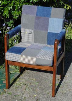 beginner patchwork chair upholstery