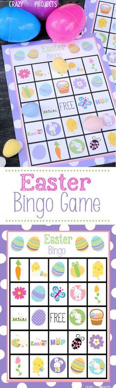 The Easter Bingo Game