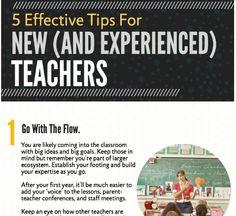 5 Amazing Tips for New Teachers - Brilliant or Insane New Teachers, Best Teacher, Professional Development, Higher Education, Classroom Management, Mindfulness, Teaching, Amazing, Tips