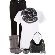 Black && white