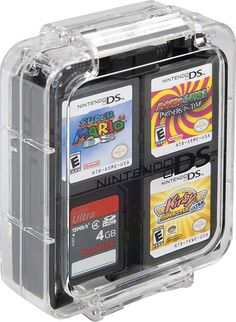 Shop Power A Clear Case for Nintendo DS, DS Lite, DSi, DSi XL and Game Cards Pink, Teal and Black at Best Buy. Find low everyday prices and buy online for delivery or in-store pick-up. Nintendo 2ds, Nintendo 3ds Games, Nintendo Ds Lite, Nintendo Consoles, Nintendo Pokemon, Playstation, Xbox 360, Arma Nerf, Wii