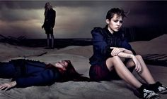 Marc Jacobs 2014 ad campaign featuring Miley Cyrus. And a dead girl, it seems. Photograph: David Sims/Marc Jacobs
