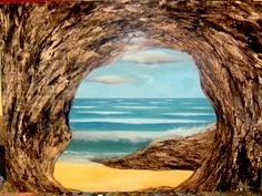 SUMMER  Magic Realism Art in Painting by Esteban Simich