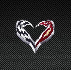 Happy #Corvette Valentine's Day!  Our true love!