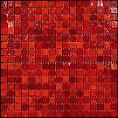 Discount Glass Tile Store - Murano Glass Tile - Red Pepper, $9.49 (http://www.discountglasstilestore.com/murano-glass-tile-red-pepper/)