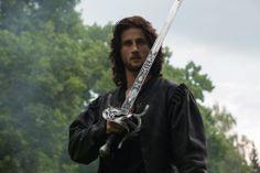 Mark Ryder as Cesare Borgia.  Borgia: Faith and Fear