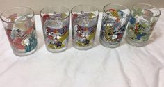 Disney 100 Years of Magic Share A Dream Come True 5 Glasses McDonalds #Disney