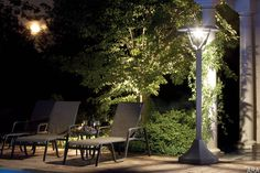 Installing outdoor lighting can highlight special features and keep nighttime walks safe. http://www.houzz.com/ideabooks/21545664/list/light-your-landscape-for-drama-and-function
