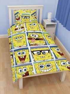 If You Like Spongebob Will Love This Framed Reversible Duvet Cover Set Its Literally