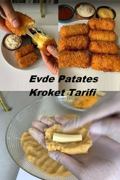 Appetizer Recipes, Appetizers, Potato Croquettes, Different Recipes, Fudge, Food And Drink, Yummy Food, Vegetables, Cooking