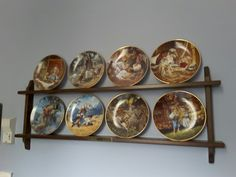Fairy tale plate collection.  I have 2 others that are also fairy tale plates that were my grandmother's