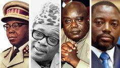 Les quatre présidents congolais : de Joseph à Joseph en passant par Joseph-Désiré et Laurent-Désiré.