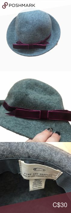 """PINS AND NEEDLE GREY WOOL FEDORA Listing as anthro as I cannot determine if this was from Anthro or Urban Outfitters EUC Circumference = 22""""   Measurements are approximate and in inches    🌟Top Rated Seller 💌 All items shipped in 48hrs 🛍 All Reasonable offers accepted ♥️ 10% off on all bundles & $9.99 shippin Anthropologie Accessories Hats Plus Fashion, Fashion Tips, Fashion Design, Fashion Trends, Pins And Needles, Top Rated, Urban Outfitters, Women Accessories, Anthropologie"""