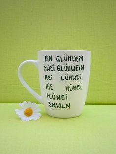 Tasse für Glühwein ♥ Glühweintasse ♥ Weihnachten von hochdietassen auf DaWanda.com