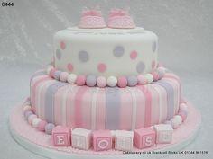 Christening Cake Gateau Baby Shower, Baby Shower Cakes, Fancy Cakes, Cute Cakes, Christening Cake Girls, Baptism Cakes, Baby Girl Cakes, Novelty Cakes, Occasion Cakes