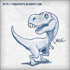 T-Rex #illustration