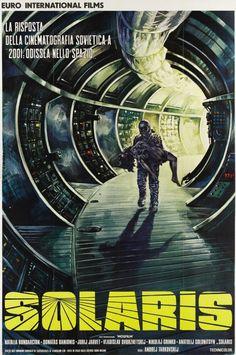 Solaris (1972). Directed by Andrei Tarkovsky. A Soviet science fiction art film adaptation of Polish author Stanisław Lem's novel Solaris (1961).