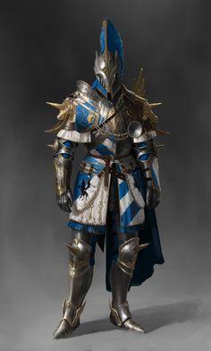 Warden Crusader Unicorn Set