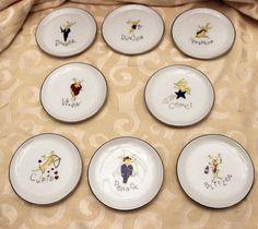 Pottery Barn Reindeer Coasters set of 8 #PotteryBarn