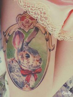 Realistic Sailor Moon Bunny Tattoo
