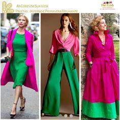 The Tyish – Стиль Estilo Style – Primavera Colour Combinations Fashion, Color Combinations For Clothes, Fashion Colours, Colorful Fashion, 60 Fashion, Autumn Fashion, Fashion Outfits, Womens Fashion, Color Blocking Outfits