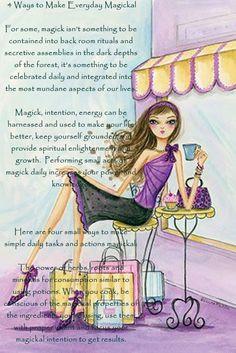 4 Ways to Make Everyday Magickal