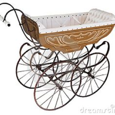 Antique baby stroller | When you leave, Baby carriage and Baby prams