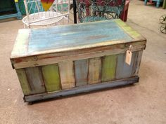 nice old  box...from  green oak