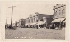 RP: Main Street , LACOMBE , Alberta , Canada , PU-1935