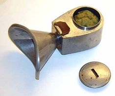 Murphy's anesthesia inhaler, 1860. Today we call this a bong - CRH