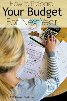 Having a well planned budget for the year will help you achieve your financial goals. Read on to find out how you can best prepare your budget for next year! How to budget, living on a budget, frugal living Financial Peace, Financial Goals, Financial Planning, Financial Budget, Financial Literacy, Budgeting Finances, Budgeting Tips, Ways To Save Money, Money Saving Tips