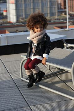The most fashionable kid ever! | Kids fashion Scout The City | Boots: Nordstrom Rack