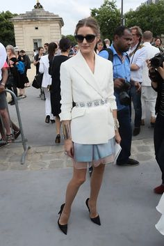 PFW, Front Row at Christian Dior: Chistian Dior Total Look | http://getthelookoliviapalermo.blogspot.com.es