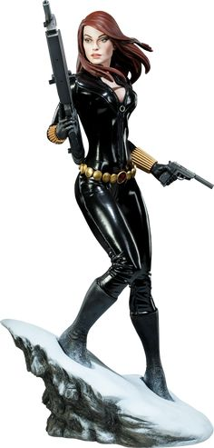 My husband got this Black Widow - Natasha Romanova Premium Format™ Figure for me for my birthday (i love him) This is so sweet, I'm gonna pretend it looks just like me *wink*