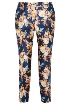 The look for less- floral print trent - Jcrew pants
