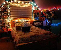 1000 images about string lights for Young woman bedroom and string lights