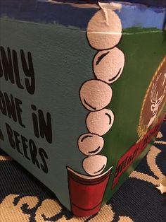 Frat coolers Blouses and Tops wonder woman t shirt walmart Nola Cooler, Diy Cooler, Painted Fraternity Coolers, Frat Coolers, Painted Coolers, Sorority Canvas, Sorority Paddles, Sorority Recruitment, Formal Cooler Ideas