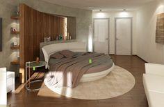 http://www.giwamaterassi.it/letti-rotondi-C333.html I letti rotondi donano un tocco di romanticismo alla vostra camera da letto. La loro forma circolare, la peculiarità e comodità di essere girevoli, li hanno assurti a nuova moda del momento. I letti tondi affascinano, conquistano, ed ora Giwa Materassi li mette in vendita on line in esclusiva per voi.