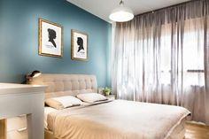 Apartamento POP Contemporâneo em Israel por Dana Shaked - Decoração POP - Apartamento Colorido - Decoração Contemporânea - Estilo Contemporâneo - Contemporary Style - Apartamento Jovem - Apartamento Contemporâneo - Decoração de Quartos - Quartos Decorado - Quarto de Casal Moderno - Quarto de Casal -Decoração de Quartos de Casal - Quarto de Casal Decorado - Cama de Casal - Cabeceira Capitonê - Star Wars - #BlogDecostore
