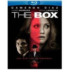 The Box. Cameron Diaz, James Marsden, Frank Langella, James Rebhorn, Holmes Osborne.  4/5 Stars