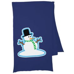 Scarf Wearing Snowman. #snowman #holidaygiftideas #Christmas #winter #scarf