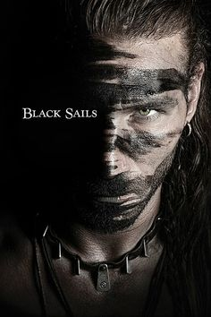 ⚓ Captain Charles Vane Of The Series Black Sails. Flint Black Sails, Black Sails Vane, Charles Vane Black Sails, Series Movies, Tv Series, Starz Series, King Roan, Pirate Life, Pirate Art