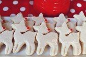 vintage inspired Rudolph cookies by Decadent Delights Designer Cakes & Cookies