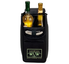 Just like fine wine, your brand will improve with age with this Insulated Wine Bottle Travel Case/Cooler Gift Set. Features room for two bottles separated by a divider. Wine Drinks, Alcoholic Drinks, Wine Cellar Racks, Make Your Own Wine, Gifts For Wine Lovers, Lovers Gift, Like Fine Wine, Coffee Wine, Wine Guide