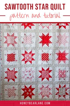 You've got enough time to make this quilt for Christmas.  It also makes a lovely winter gift. Quilts for beginners. Quilting projects. Quilting techniques.