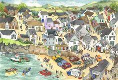 Port Isaac (S9) - Prints - Serena - Cornwall Art Galleries